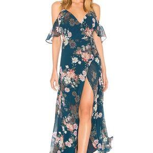Yumi KimEndless Love Wrap Maxi Dress